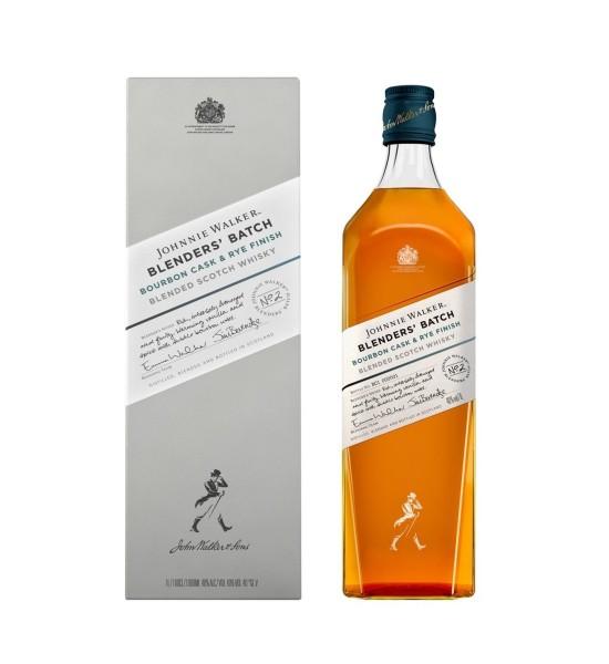 Johnnie Walker Blenders Batch Bourbon Cask & Rye Finish 1L