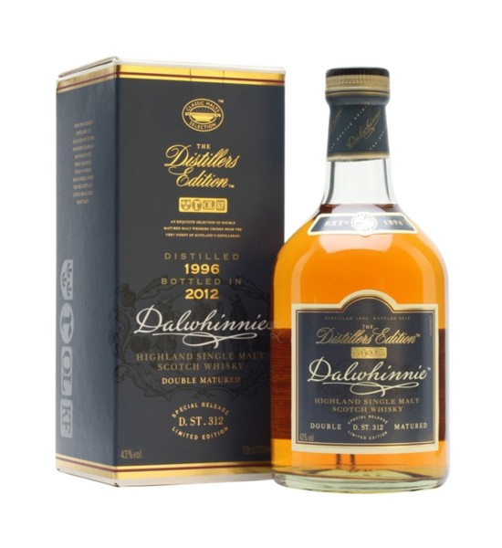 Dalwhinnie Distillers Edition Double Matured 1L