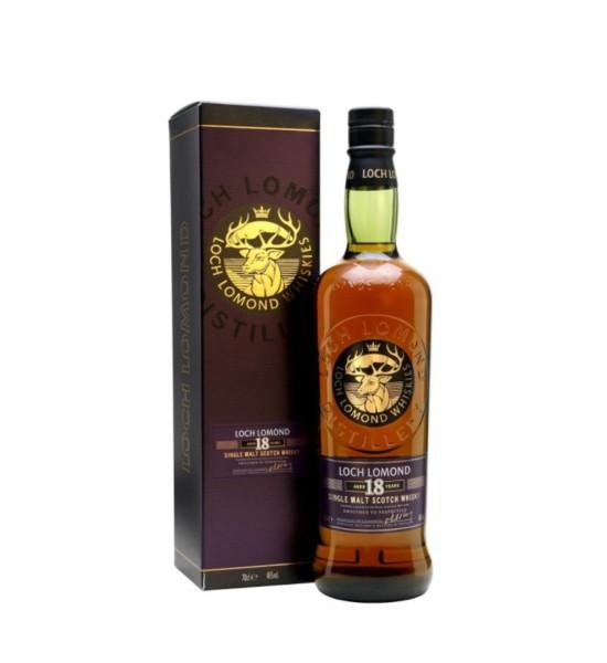 Loch Lomond Original Single Malt Scotch Whisky 18 ani 0.7L