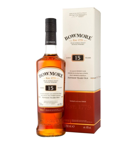 Bowmore Sherry Cask 15 ani 0.7L