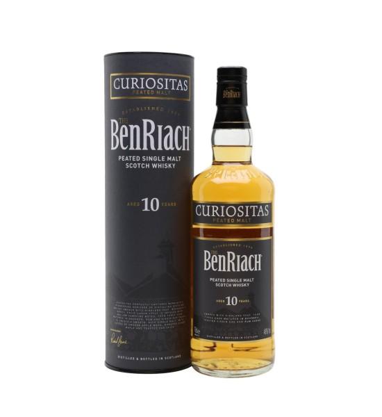 Benriach Curiositas 10 ani 0.7L