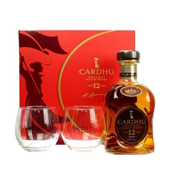 Cardhu 12 ani Gift Set 0.7L