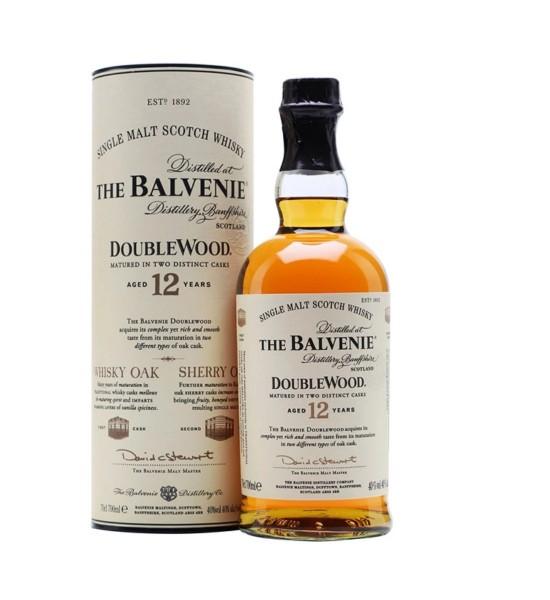 The Balvenie Double Wood 12 ani 0.7L
