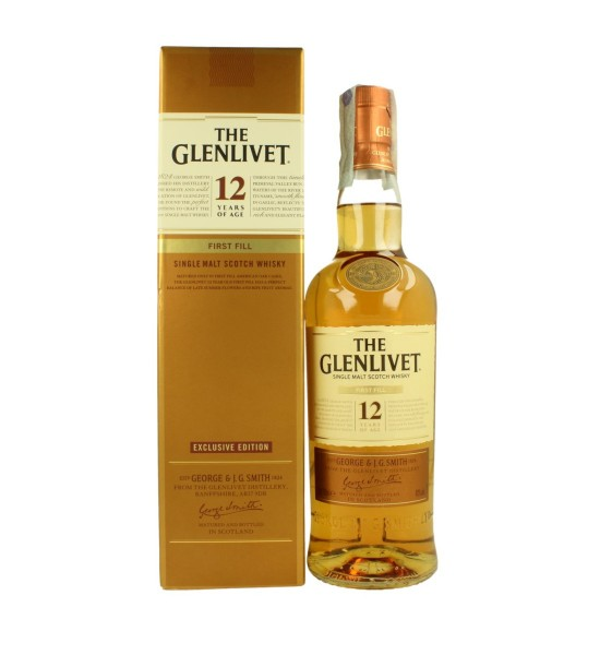 The Glenlivet First Fill 12 ani 0.7L