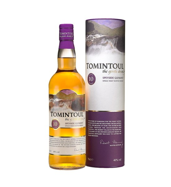 Tomintoul 10 ani The Gentle Dram 0.7L
